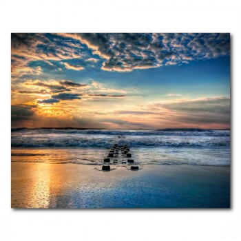Mikaels, Natalie: Into the Sea - photography, sea - canvas, plexi, dibond, poster